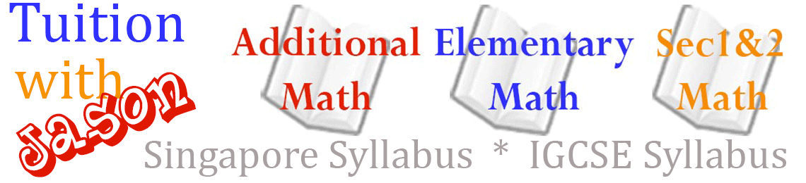 Tuition with Jason – Math Specialist Logo