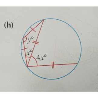 Elementary Math – Properties of Circles – Use Angles in Opposite Segment to Find Unknown Angle