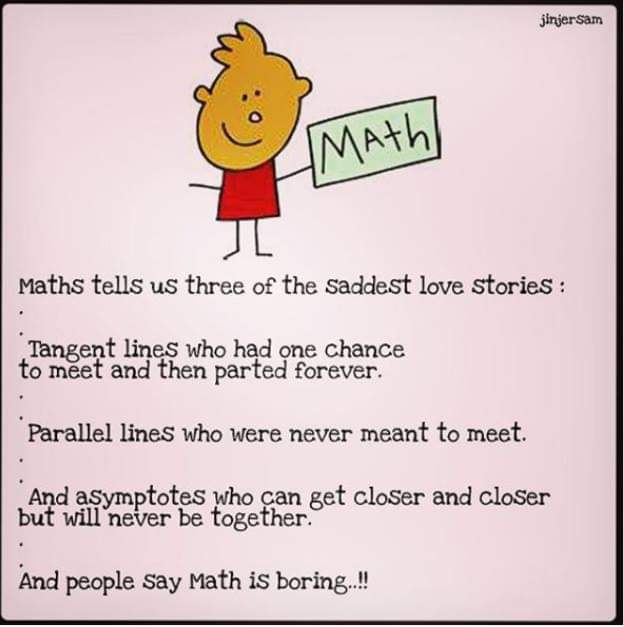 Math love story about tangent lines, parallel lines and lines of asymptote. Best Math Tuition Woodlands and Johor Bahru. Singapore and IGCSE syllabus. A-Math, E-Math, Combine Science (Physics/Chem)