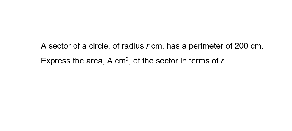 e-math-arc-length-and-sector-area-express-area-in-terms-of-r.